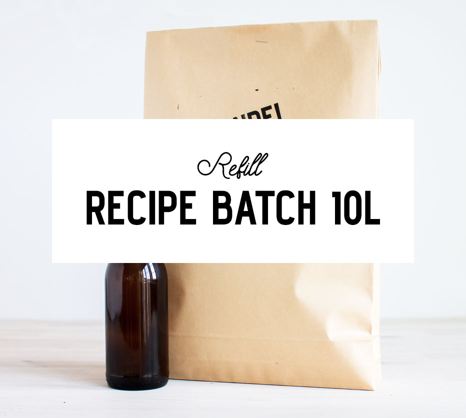 10-liter Refill Recipe Batch