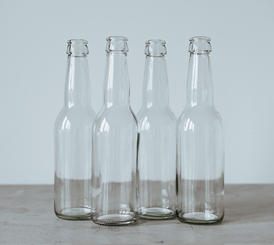 Flaskor long neck klarglas 12-pack (glas, 33 cl)